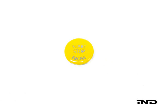 IND E60 M5 Yellow Start / Stop Button  3