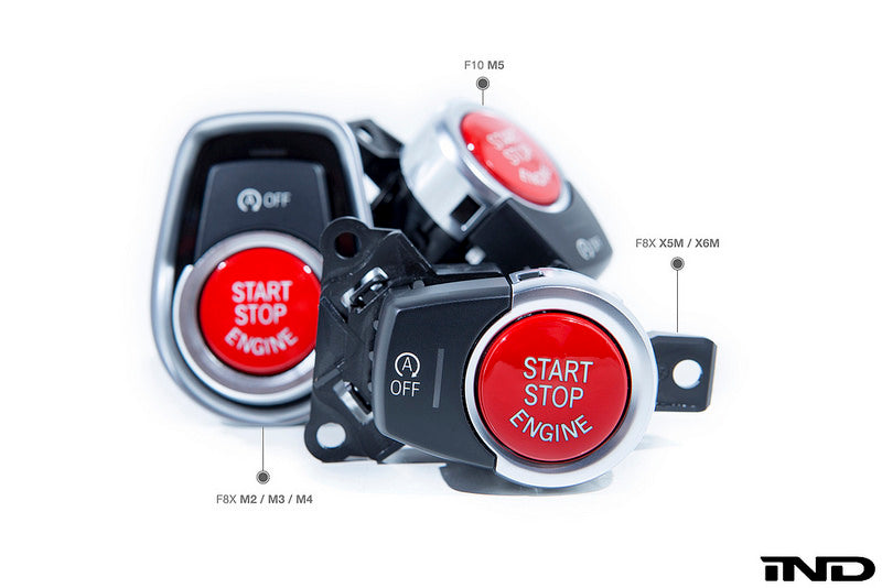 iND f85 x5m f86 x6m red start stop button - iND Distribution