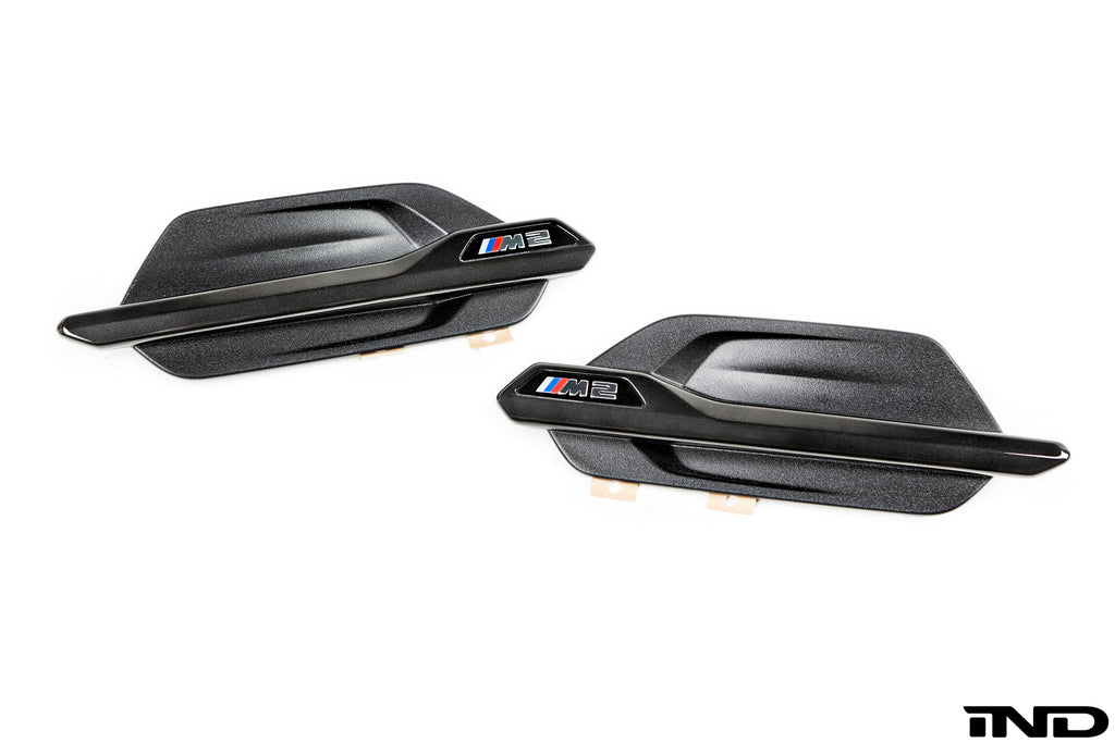 IND F87 M2 Black Chrome Side Marker Set 2