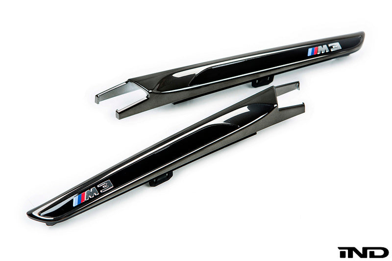 iND f8x m3 m4 black chrome side marker set - iND Distribution