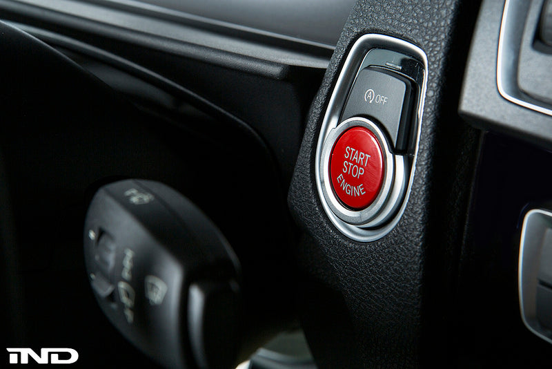 IND  F30 3-Series Red Start / Stop Button  12