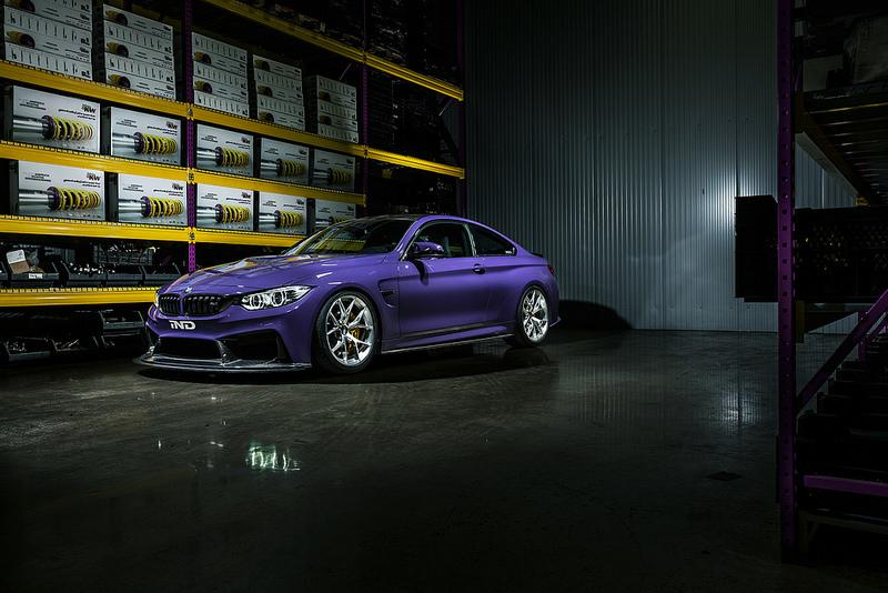 KW coilover bmw 4 series f32 435i 440i coupe awd x drive with edc includes edc cancellation variant 1 - iND Distribution