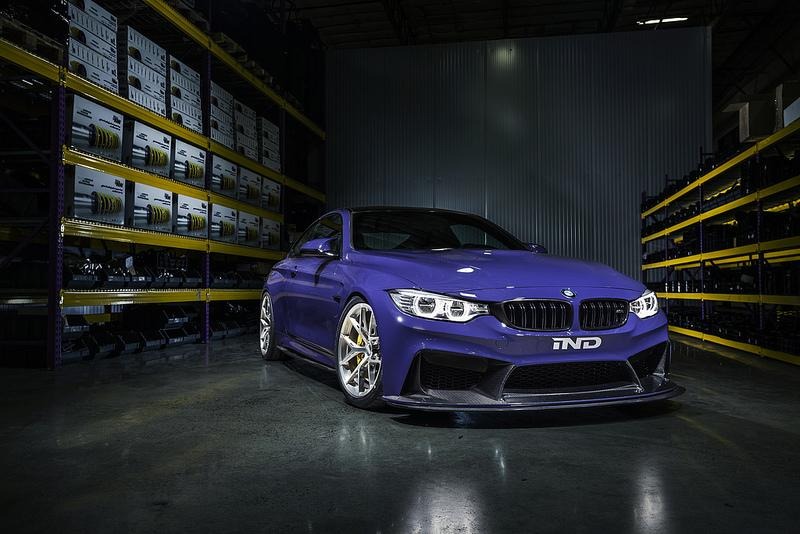 KW coilover bmw 4 series f32 435i 440i coupe awd x drive without edc variant 1 - iND Distribution
