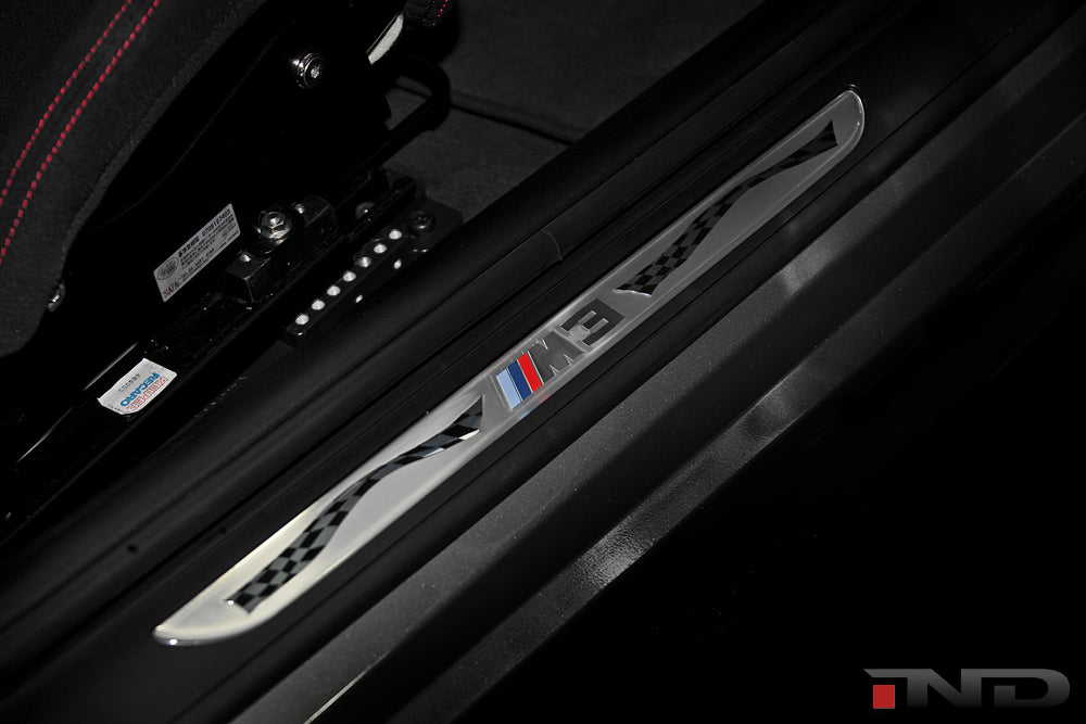 BMW OEM E92 M3 Competition Door Sill Set 3