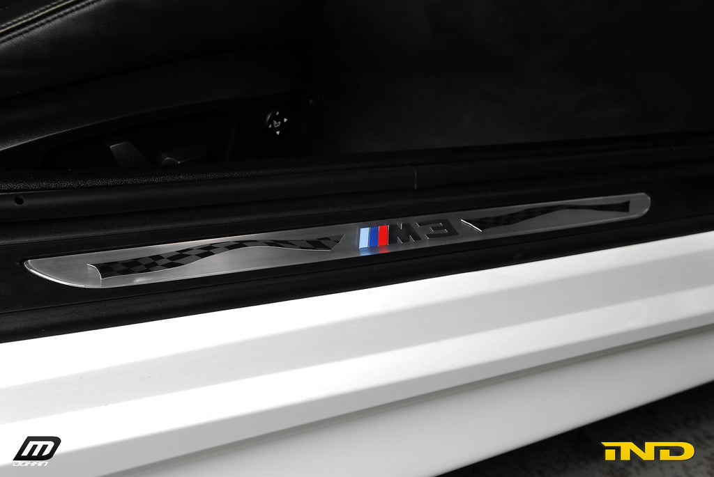 BMW OEM E92 M3 Competition Door Sill Set 2