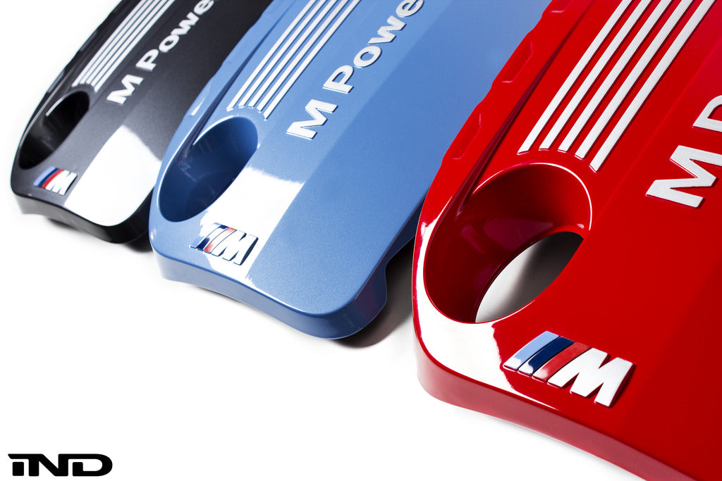 IND F80/F82/F83 M3/M4 Painted Engine Cover - Mineral Grey / Yas Marina Blue / Imola Red