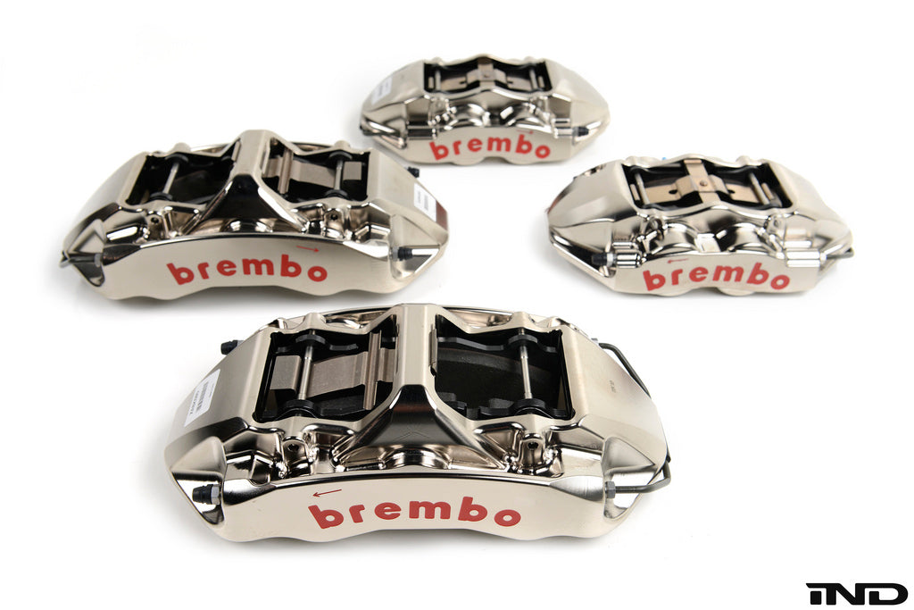 Brembo e9x m3 gt r big brake kit 365x34m 2 piece front - iND Distribution