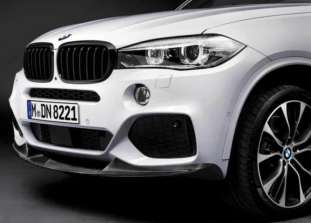 BMW f15 x5 m sport Performance carbon fiber front splitter - iND Distribution