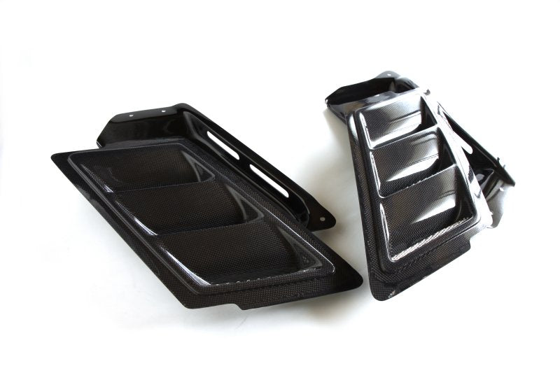 3d design e82 carbon fiber hood vents kit - iND Distribution