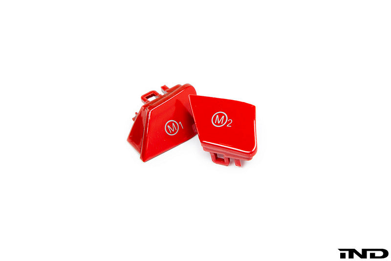 iND f8x m3 m4 red m1 m2 button set - iND Distribution
