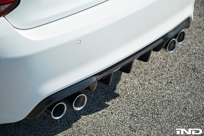 RKP f87 m2 carbon fiber rear diffuser - iND Distribution
