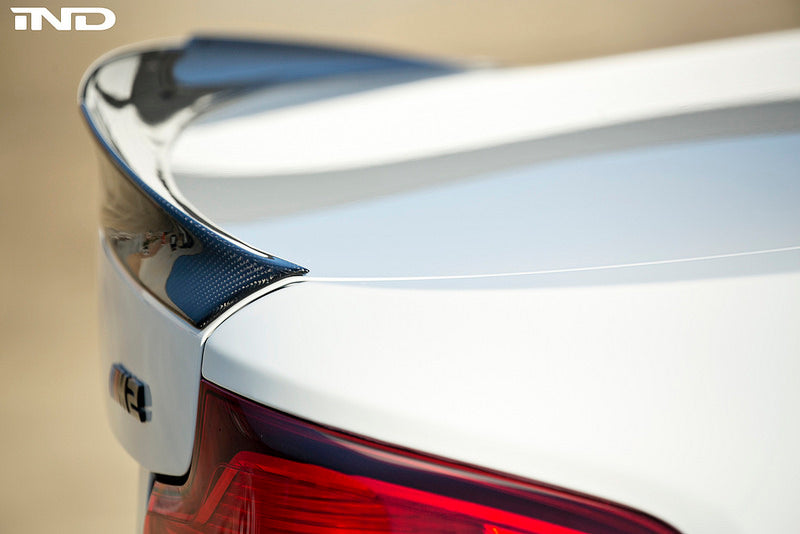 RKP f87 m2 carbon fiber trunk spoiler - iND Distribution