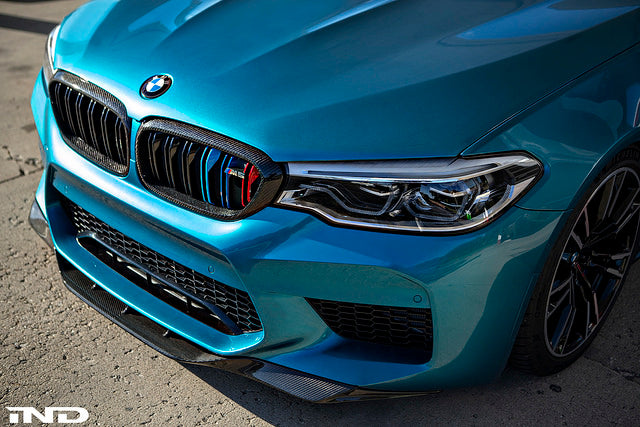RKP f90 m5 carbon front lip - iND Distribution