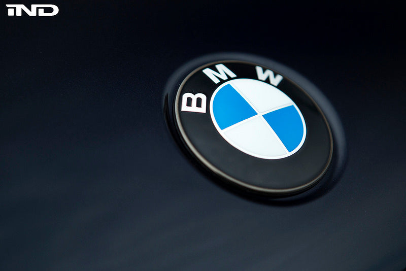 iND painted BMW hood roundel - iND Distribution