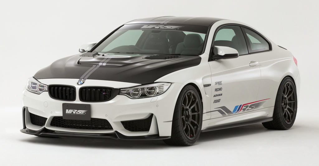 VRS F82 M4 Carbon Fiber Hood (Bonnet) System 2 - With Louver Ducts 4