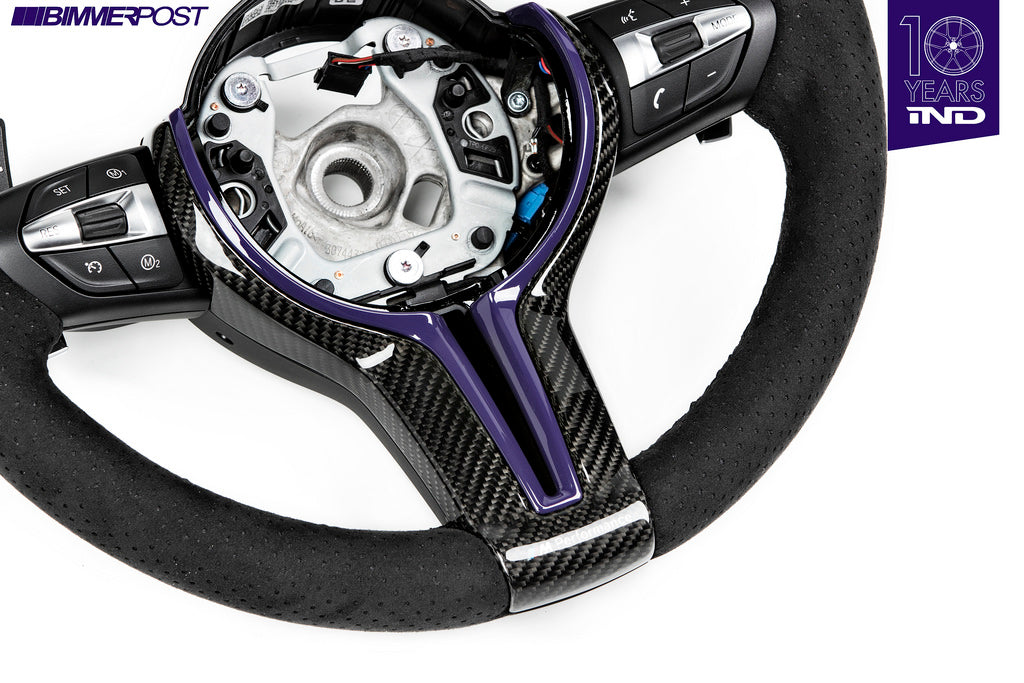 BMW m Performance gloss carbon steering wheel trim - iND Distribution