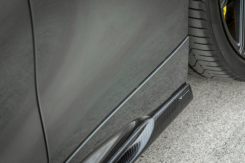 Vorsteiner BMW F87 M2 Carbon Side Skirts - iND Distributor