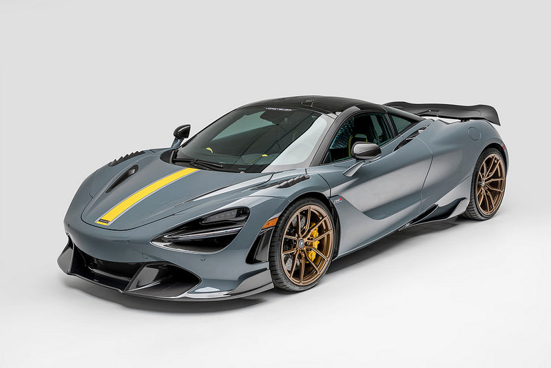 Vorsteiner mclaren 720s silverstone edition carbon front fenders with vents - iND Distribution