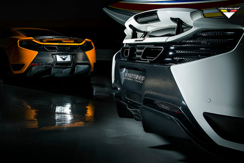 McLaren MP4-12C Vorsteiner Rear Bumper 4
