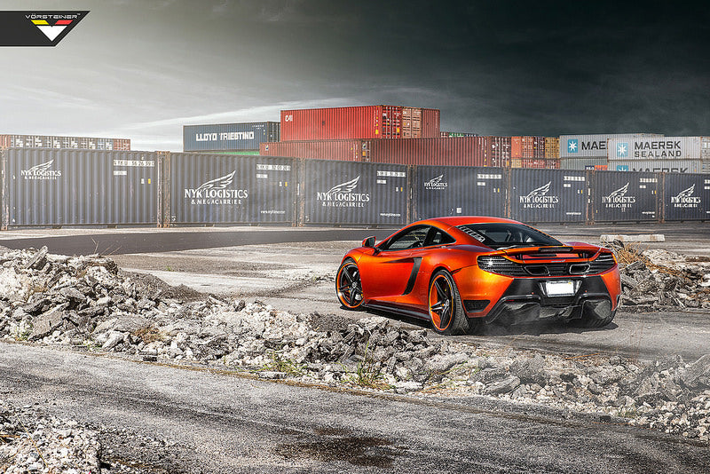 mclaren mp4 12c Vorsteiner rear bumper - iND Distribution