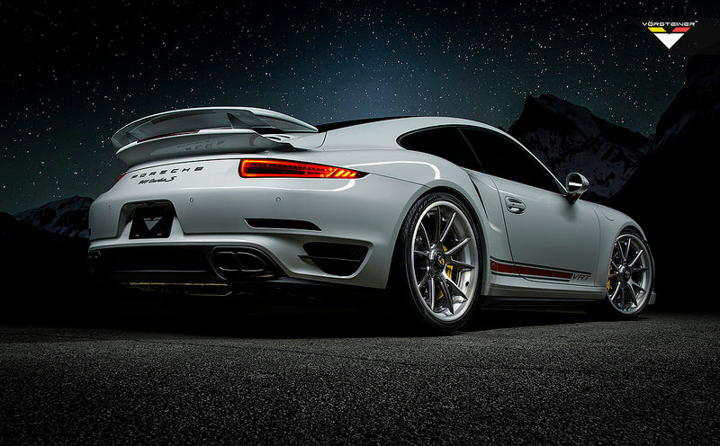 Vorsteiner 991 Turbo Carbon Rear Bumper  4