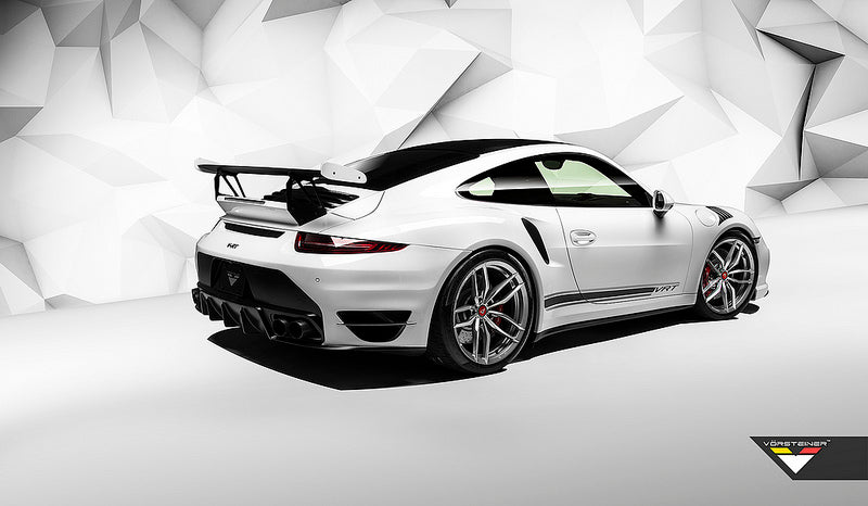 Vorsteiner 991 Turbo Carbon Aero Wing with Alumium Uprights 4