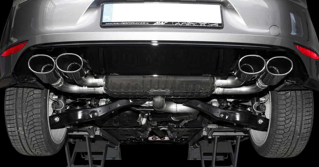 Eisenmann Golf R MKVII Performance Exhaust 2