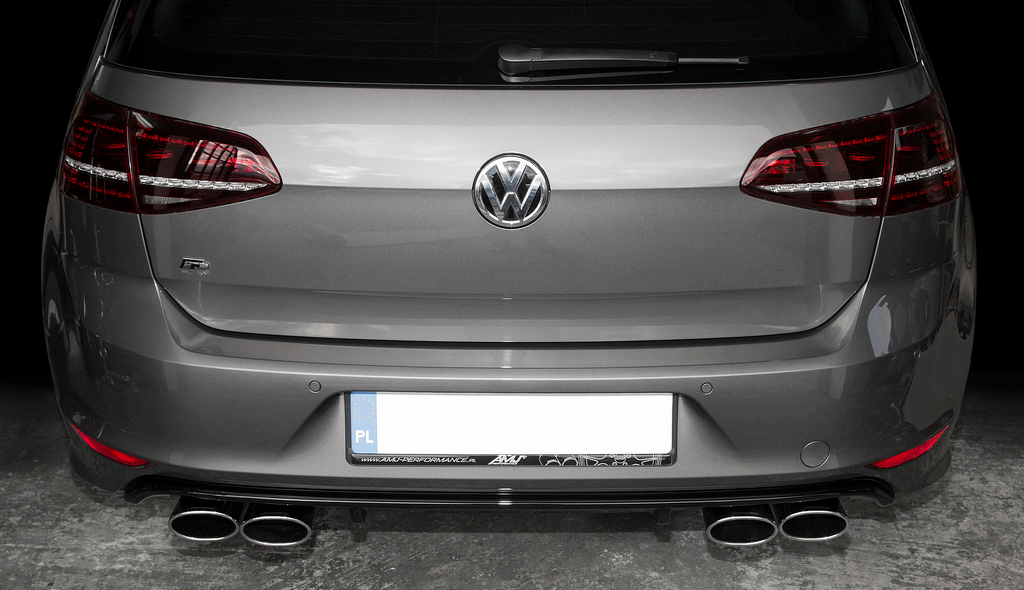 Eisenmann Golf R MKVII Performance Exhaust 1