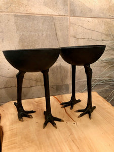 Ostrich Walking Legs Container
