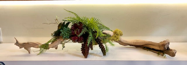 Tumbled Grapewood Artificial Arrangement