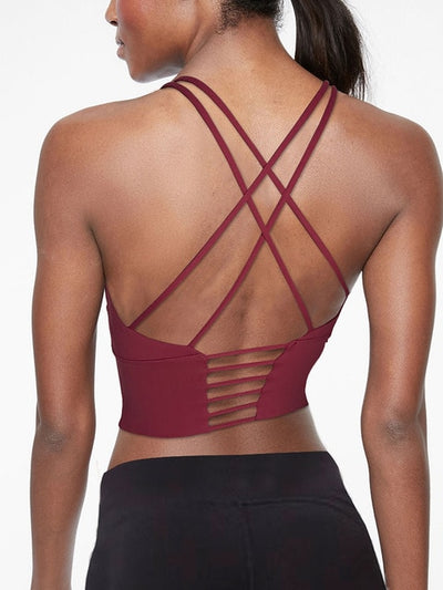 Strapped Back Top