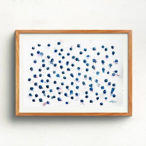 Blueberries Wallpaper - Claire Gunn
