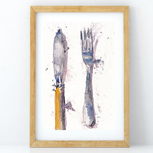 Fork and Fish Knife - Claire Gunn
