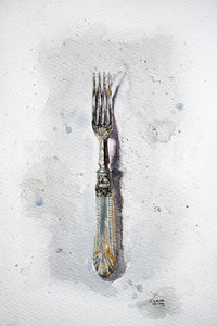 Her Grandmother's Fork - Claire Gunn