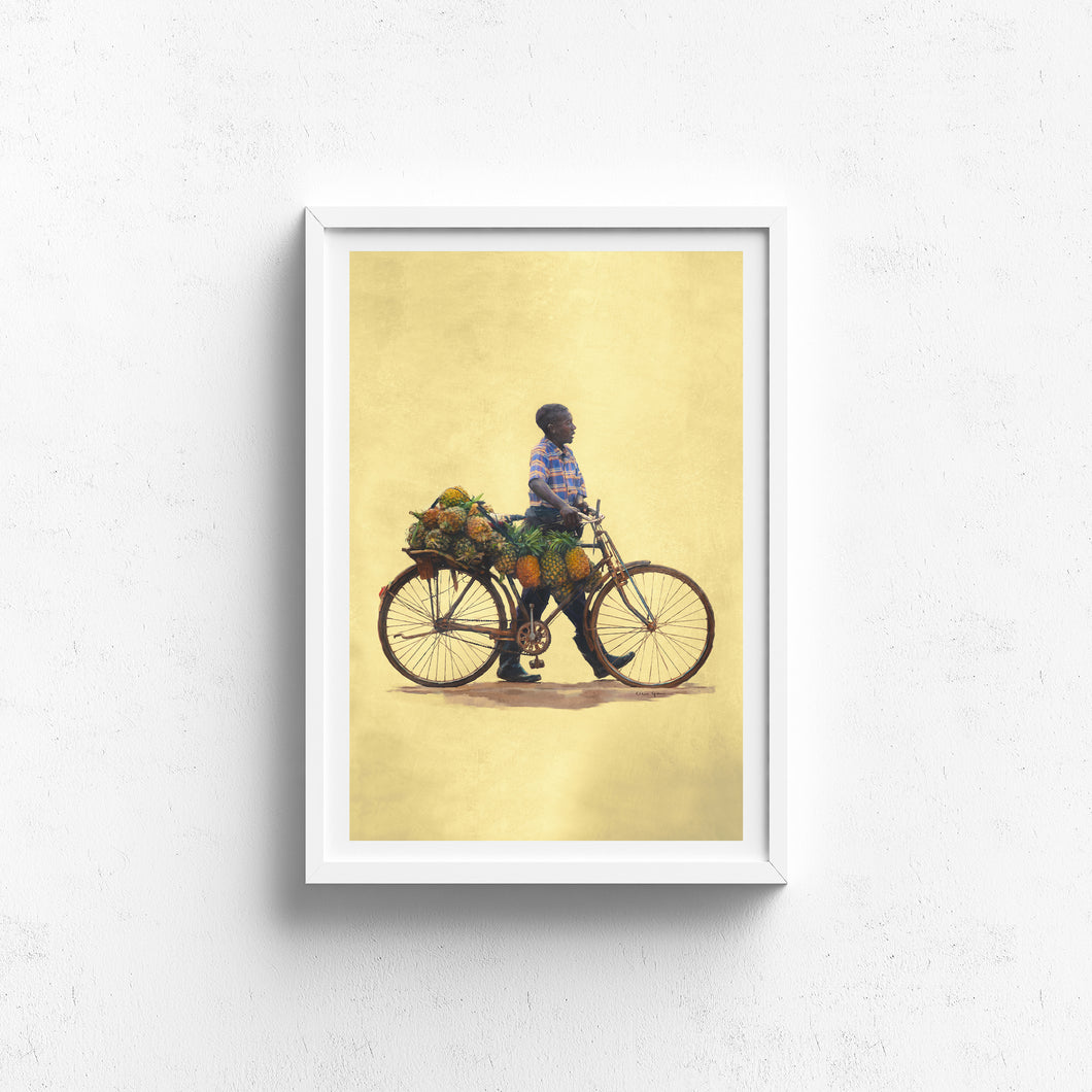 People of Uganda Series- Pineapple Delivery - Claire Gunn