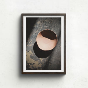 Raw Shadow plate - Claire Gunn