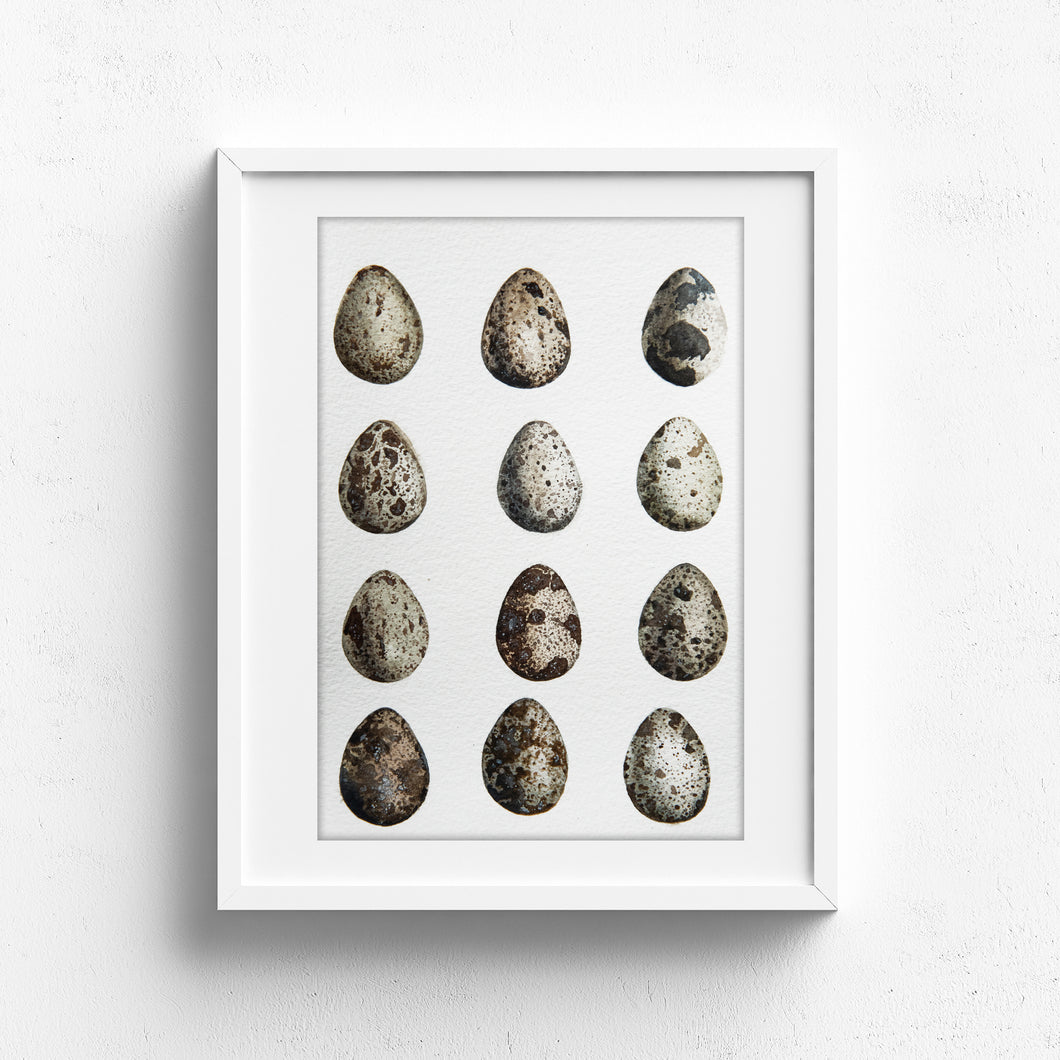 Botanical quail eggs