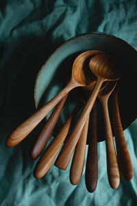 Bowl of Wooden Spoons - Claire Gunn