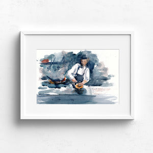 Chef in Marseille - Claire Gunn