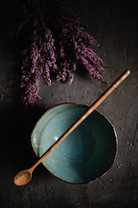 Blue Bowl and Spoon - Claire Gunn