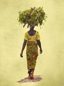 People of Uganda Series - Vanilla Pods Carrier - Claire Gunn