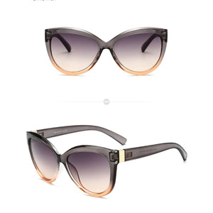 "Caribbean Queen"" Silver Grey Ambar Ladies Sunglasses"