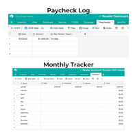 Reseller Dashboard Spreadsheet