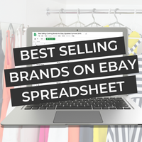 Best Selling Brands on Ebay Database