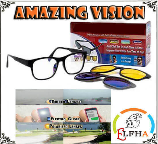 AMAZING-VISION 3IN1 MAGNETIC GLASSES™