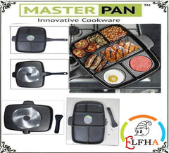 5 IN 1 NON STICK MASTER PAN