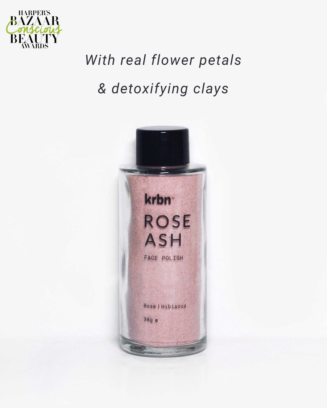 Rose Ash Face Polish