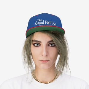 THE SOUL PATTY Unisex Flat Bill Hat