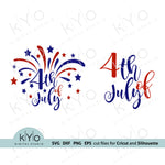 Fireworks svg, 4th of July svg