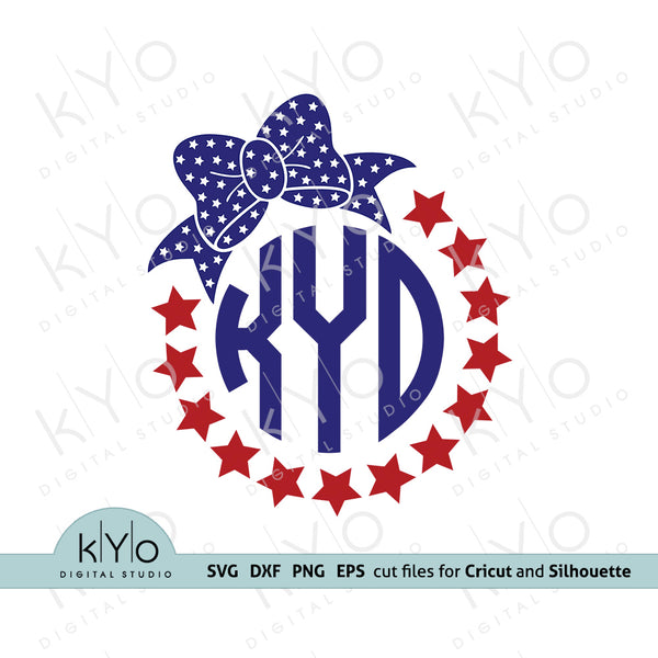 american monogram svg